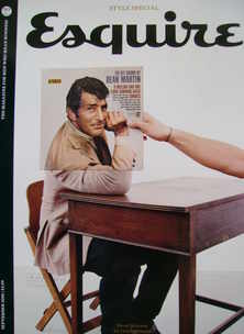 <!--2008-09-->Esquire magazine - Dean Martin cover (September 2008 - Subscr