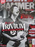 <!--2006-03-->Metal Hammer magazine - Trivium cover (March 2006)