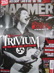 Metal Hammer magazine - Trivium cover (March 2006)