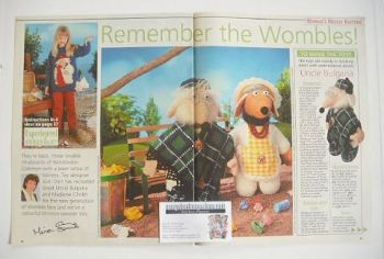 The Wombles toy knitting patterns (designed by Alan Dart)