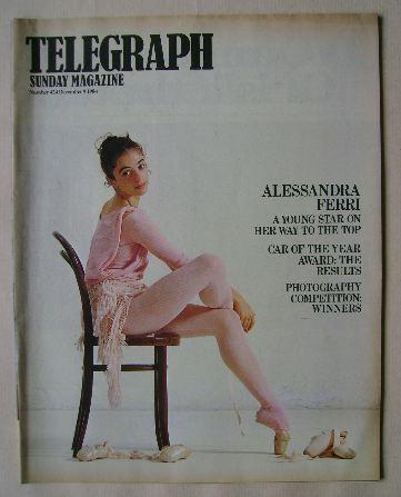 <!--1984-12-09-->The Sunday Telegraph magazine - Alessandra Ferri cover (9