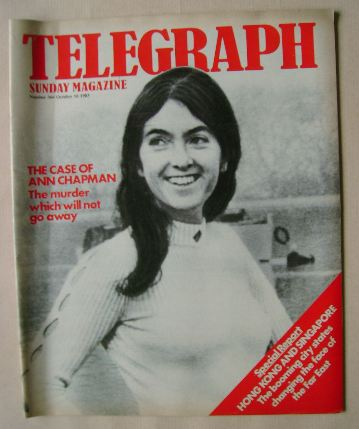 <!--1983-10-16-->The Sunday Telegraph magazine - Ann Chapman cover (16 Octo