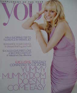 <!--2010-02-14-->You magazine - Tess Daly cover (14 February 2010)