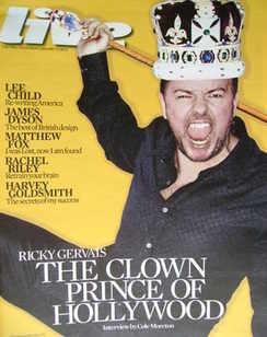 <!--2010-01-31-->Live magazine - Ricky Gervais cover (31 January 2010)