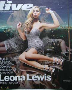 <!--2010-02-07-->Live magazine - Leona Lewis cover (7 February 2010)