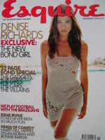 <!--1999-11-->Esquire magazine - Denise Richards cover (November 1999)