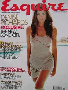 <!--1999-11-->Esquire magazine - Denise Richards cover (November 1999)