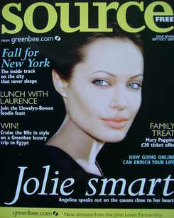 Source magazine - Angelina Jolie cover (September/October 2007)