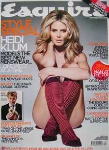 Esquire magazine - Heidi Klum cover (September 2006)
