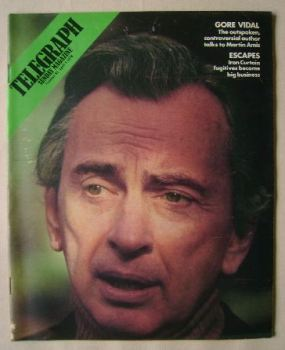 The Sunday Telegraph magazine - Gore Vidal cover (9 April 1978)