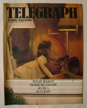 <!--1985-09-08-->The Sunday Telegraph magazine - Peter de Savary cover (8 S