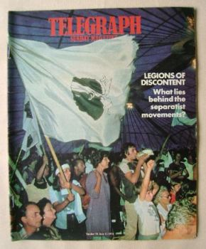 The Sunday Telegraph magazine - Legions Of Discontent cover (11 June 1978)