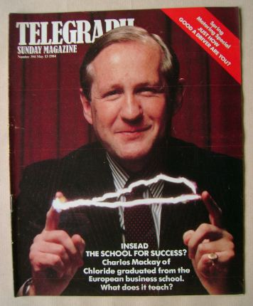 <!--1984-05-13-->The Sunday Telegraph magazine - 13 May 1984