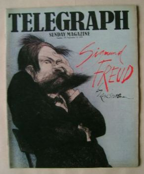 The Sunday Telegraph magazine - Sigmund Freud cover (23 September 1979)