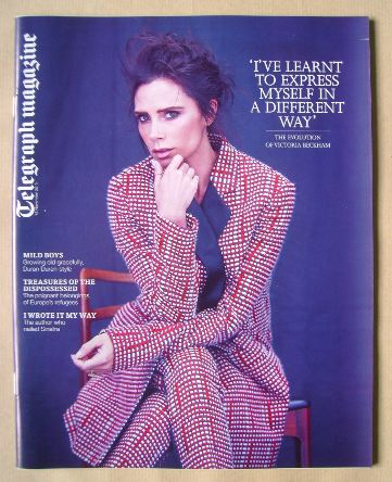 <!--2015-11-14-->Telegraph magazine - Victoria Beckham cover (14 November 2