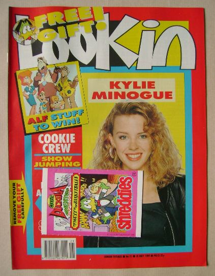 <!--1989-05-20-->Look In magazine - Kylie Minogue cover (20 May 1989)