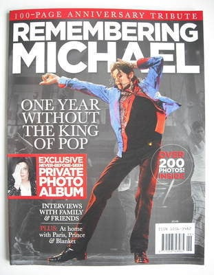 Remembering Michael Jackson magazine (June 2010)