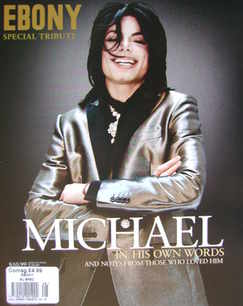 Ebony Special Tribute magazine - Michael Jackson cover (2009)