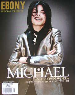 Ebony Special Tribute magazine - Michael Jackson cover (2009)