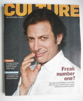 Culture magazine - Jeff Goldblum cover (27 June 2010)