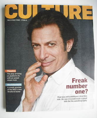 <!--2010-06-27-->Culture magazine - Jeff Goldblum cover (27 June 2010)