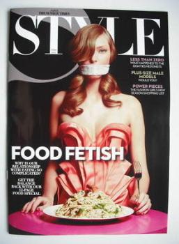 Style magazine - Food Fetish cover (27 June 2010)