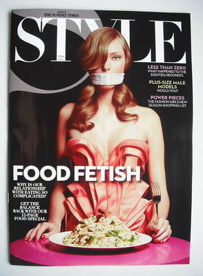 <!--2010-06-27-->Style magazine - Food Fetish cover (27 June 2010)