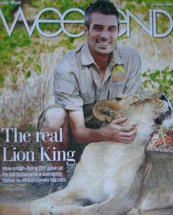 Weekend magazine - David Youldon cover (23 January 2010)