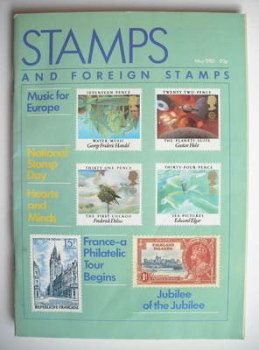 Stamps And Foreign Stamps magazine - May 1985