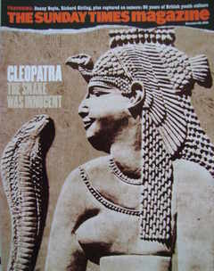 <!--2004-11-28-->The Sunday Times magazine - Cleopatra cover (28 November 2