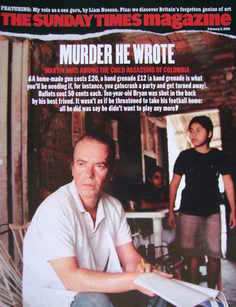 <!--2005-02-06-->The Sunday Times magazine - Murder He Wrote cover (6 Febru