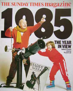 <!--1984-12-30-->The Sunday Times magazine - 1985 The Year In View (30 Dece