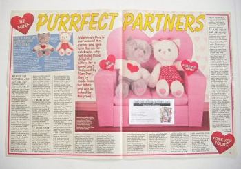 Purrfect Partners Kittens sewing pattern (designed by Alart)