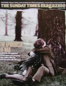 <!--2005-12-11-->The Sunday Times magazine - The Aphrodisia Of War cover (1