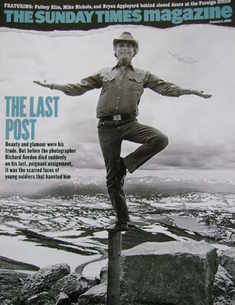 <!--2005-01-02-->The Sunday Times magazine - The Last Post cover (2 January