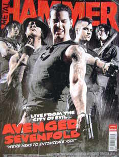 Metal Hammer magazine - Avenged Sevenfold cover (December 2005)