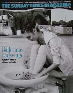 <!--2004-10-10-->The Sunday Times magazine - Ballerinas Backstage cover (10