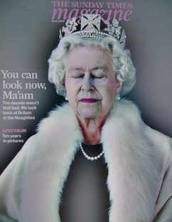 <!--2009-12-20-->The Sunday Times magazine - The Queen cover (20 December 2