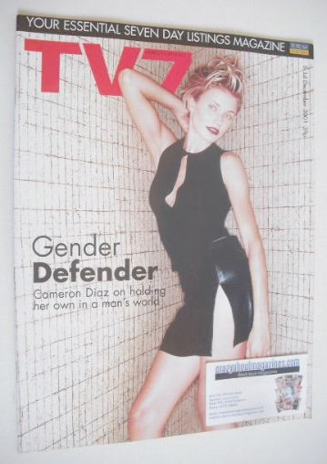 <!--2001-12-08-->TV7 magazine - 8-14 December 2001 - Cameron Diaz cover