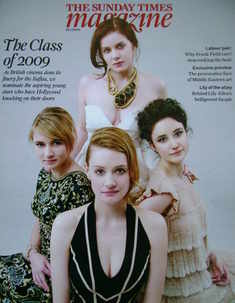 <!--2009-01-25-->The Sunday Times magazine - The Class Of 2009 cover (25 Ja