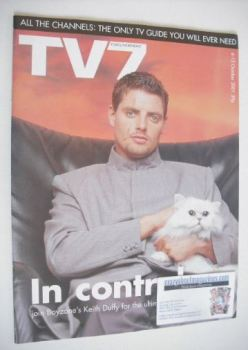 TV7 magazine - 6-12 October 2001 - Keith Duffy cover