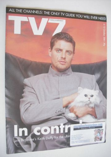 <!--2001-10-06-->TV7 magazine - 6-12 October 2001 - Keith Duffy cover