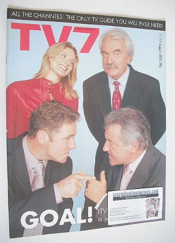 <!--2001-08-11-->TV7 magazine - 11-17 August 2001 - ITV Sport cover