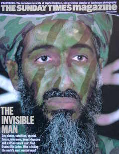<!--2007-03-18-->The Sunday Times magazine - Osama Bin Laden cover (18 Marc