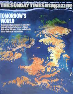 <!--2007-03-11-->The Sunday Times magazine - Tomorrow's World cover (11 Mar