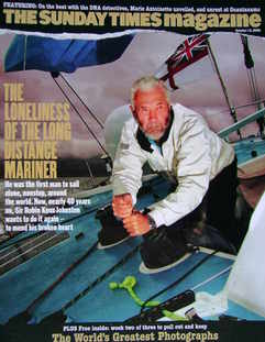 <!--2006-10-15-->The Sunday Times magazine - Sir Robin Knox-Johnston cover