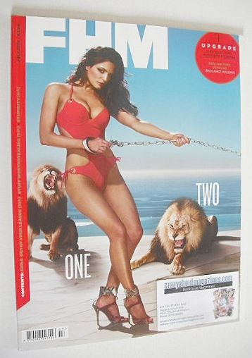 <!--2010-07-->FHM magazine - Kelly Brook cover (July 2010)