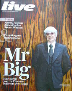 <!--2010-03-14-->Live magazine - Bernie Ecclestone cover (14 March 2010)