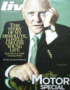 <!--2010-02-14-->Live magazine - Sir Anthony Hopkins cover (14 February 201
