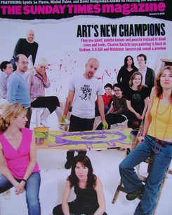<!--2005-01-09-->The Sunday Times magazine - Art's New Champions cover (9 J